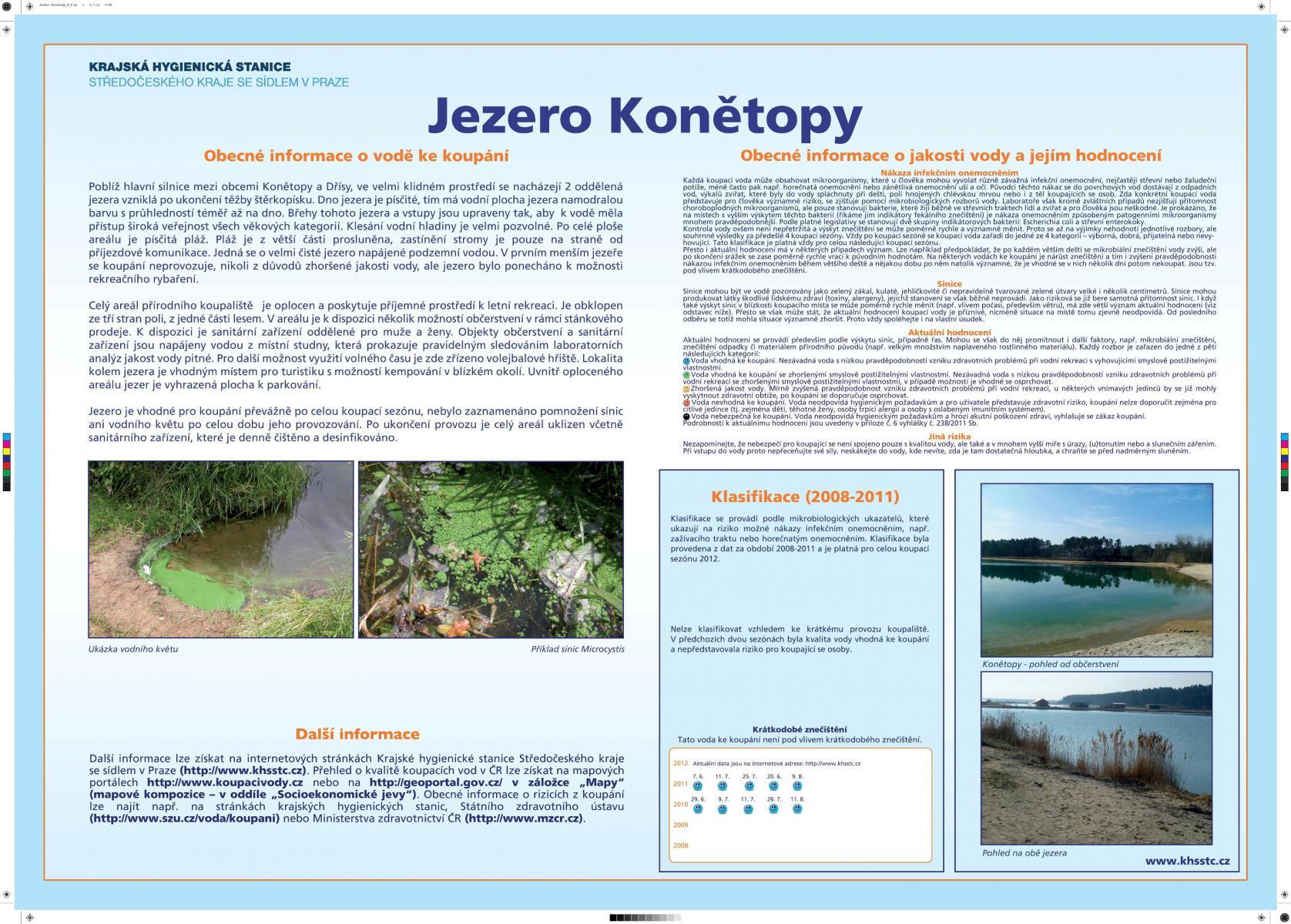 Jezero Konětopy