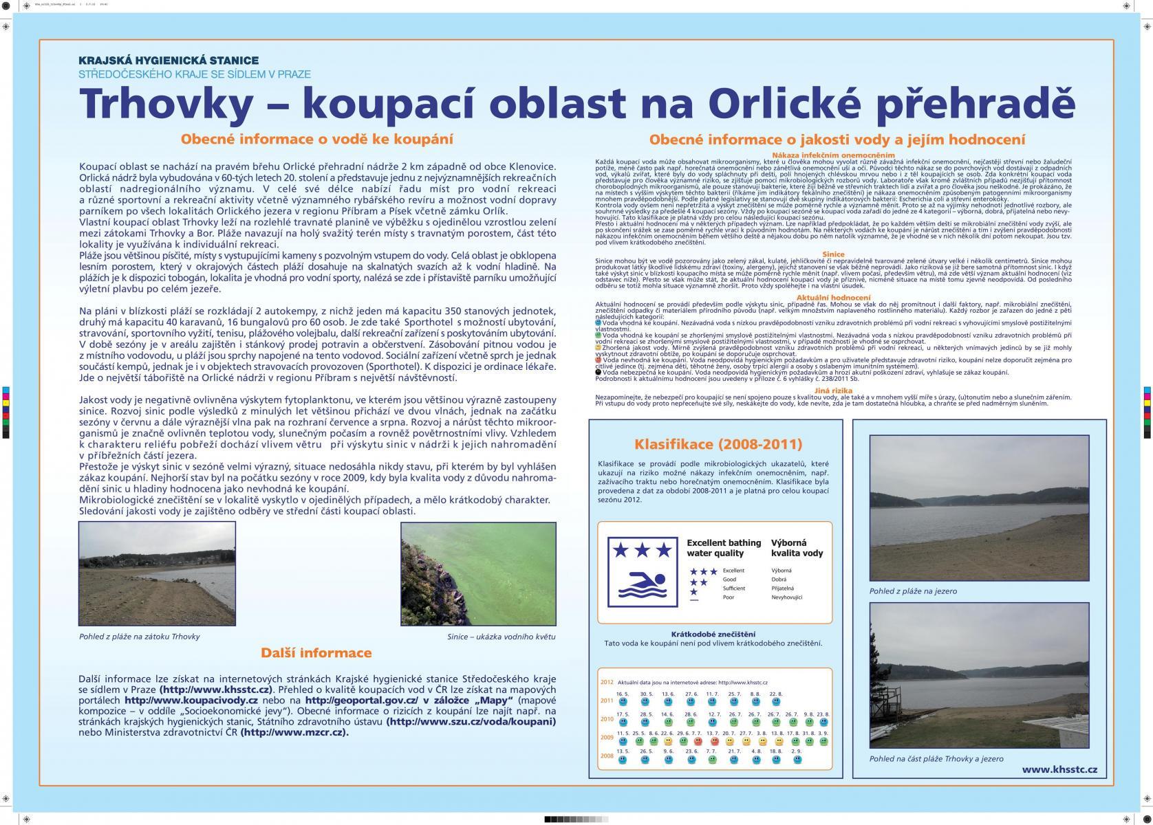 Vodní Nádrž Orlík - Trhovky